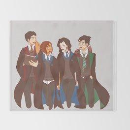 The Legend of Korra - Harry Potter Au Throw Blanket