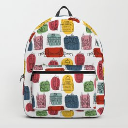Colorful Budapest city Backpack