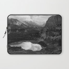 Grinnell Lake from the Trail No. 2 bw Laptop Sleeve