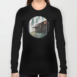 Cabin in the Pines Long Sleeve T-shirt