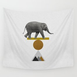 Tribal Elephant Wall Tapestry