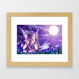 Night Fea Framed Art Print