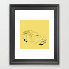 Only Fools and Horses Robin Reliant Framed Art Print
