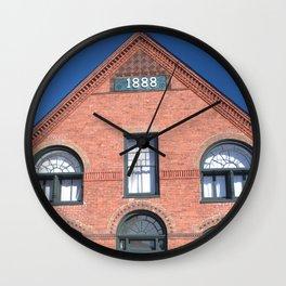 1888 Building, Ticonderoga Wall Clock