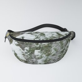 Snow Mountain Winter Forest IV - Nature Photography Fanny Pack