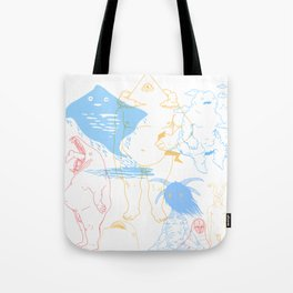 Gods of the Planets Tote Bag