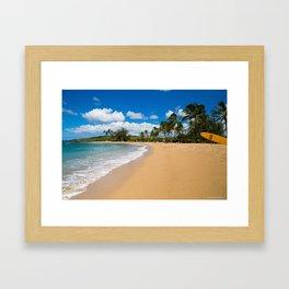 Kauai Beach Framed Art Print