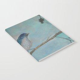 Bluebird of Happiness Notebook