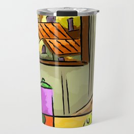 Composition homes fruit coffee Travel Mug