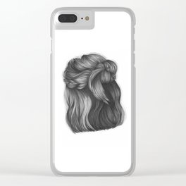 Mess it up Clear iPhone Case