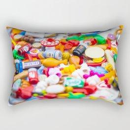 Food Glorious Food Rectangular Pillow