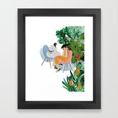 Samuji spring summer 17 Framed Art Print