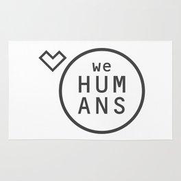Welovehumanslogo Rug
