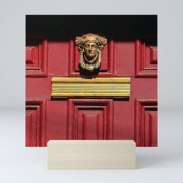 Stage Door 1889 - Please Knock Mini Art Print
