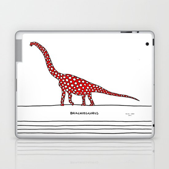 brachiosaurus Laptop & iPad Skin