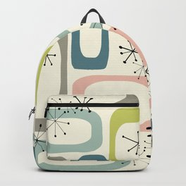 Mid Century Modern Shapes #society6 #buyart Backpack