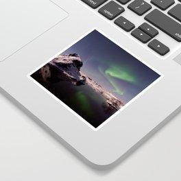 Northern Lights or Aurora Borealis - Alaska Sticker