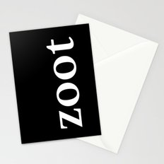 zoot inverse Stationery Cards