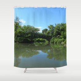 Gapstow Bridge - Central Park Shower Curtain
