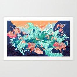Ocean Thieves Art Print