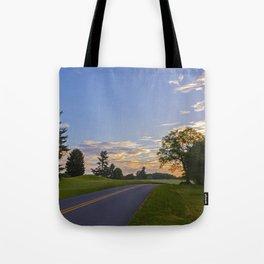 Sunrise Ahead Tote Bag
