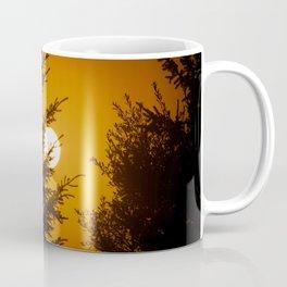 fiery sun Coffee Mug