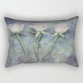 Three Roses II Rectangular Pillow