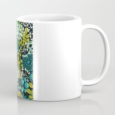 Flowers on the head. Mug