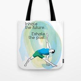 Inhale the Future Tote Bag