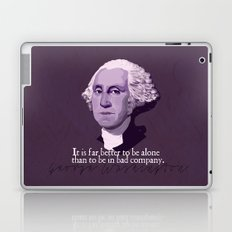 It Is Far Better To Be Alone Laptop & iPad Skin