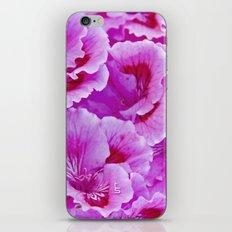 Pink Geranium I iPhone & iPod Skin