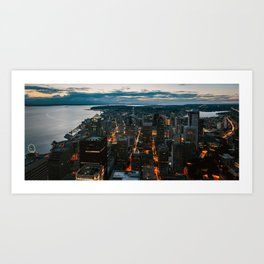 Seattle - Washington Art Print