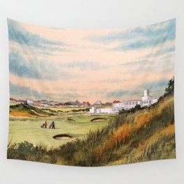 Royal Birkdale Golf Course Wall Tapestry