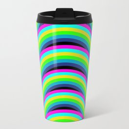 Neon Rainbow Travel Mug