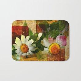 Kamillenblüten Bath Mat