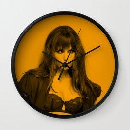 Jordana Brewster Wall Clock