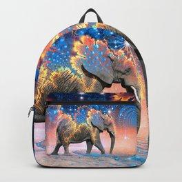 Elephant Drinking Soma Backpack
