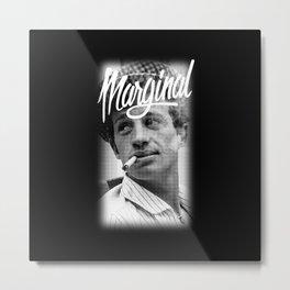 Belmondo Metal Print