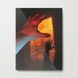 Forever Living Hands Metal Print