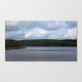 Usk Reservoir Canvas Print