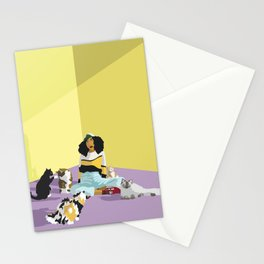 Cat Sitter Stationery Cards