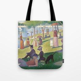 """Un dimanche après-midi à l'île de la Grande Jatte """"A Sunday on La Grande Jatte"""" Georges Seurat, 1886 Tote Bag"""