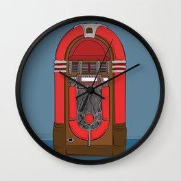 Jukebox Jam Wall Clock