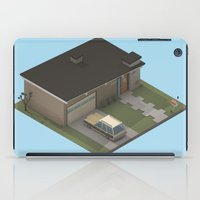 mid century iPad Cases featuring Mid Century Modern Home by Michiel van den Berg