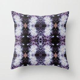 CRYSTAL II Throw Pillow