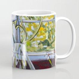 Diane L-  Fleurs en coeurs Coffee Mug