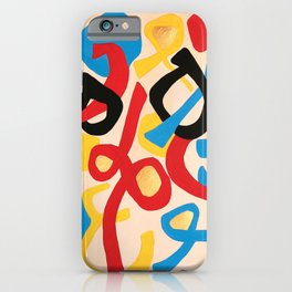 calligraphy by Azam iPhone Case