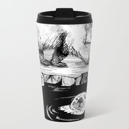 And the Otter Loved the Bear Metal Travel Mug