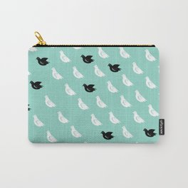 Flock of pigeons Carry-All Pouch