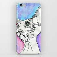 psych iPhone & iPod Skins featuring Psych Sphinx by Szilvia Lucas